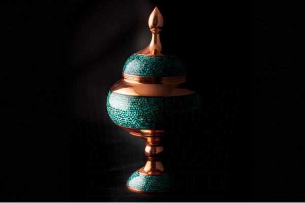 Turquoise Chocolate Pot