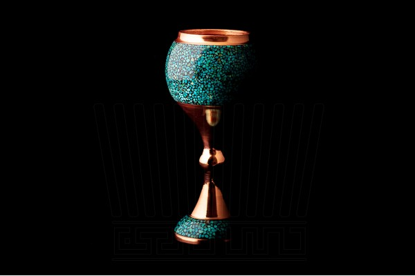 Turquoise Wine Cup Set